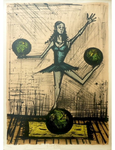 « The Dancing Lady with Balloons»