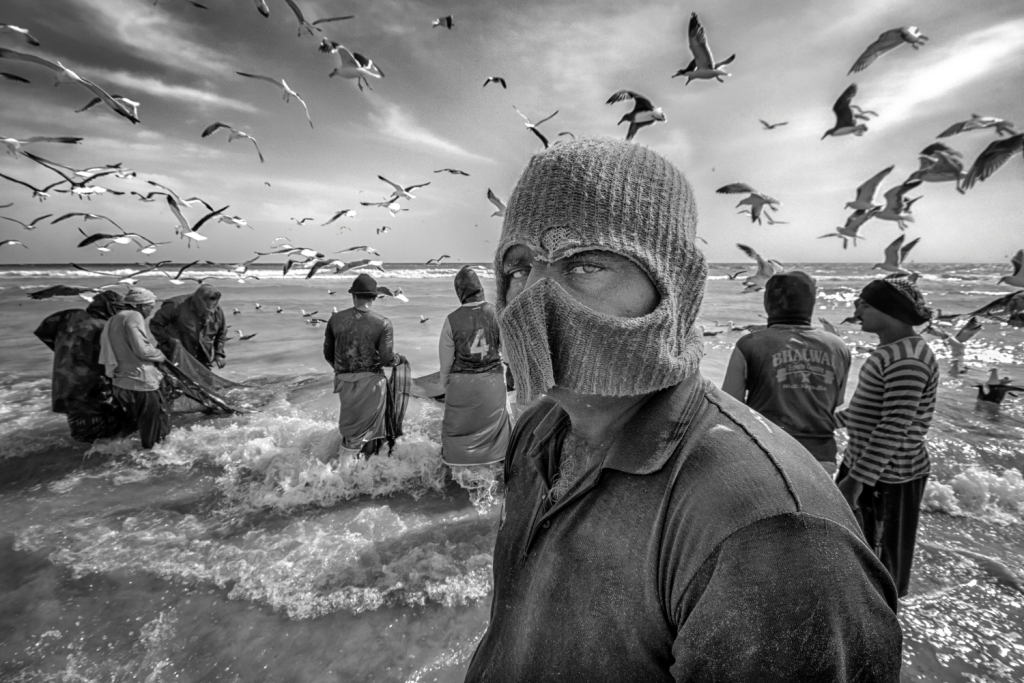 « Serious » from 'The Fishermen' Series
